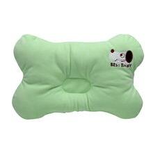 Hot Sale Organic Cotton Flat Head Baby Pillow Infant Toddler Bedding Newborn Soft Neck Pillow