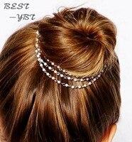 2015 Vintage Bohemia imitation pearl Pin Hair Accessories Women Jewelry