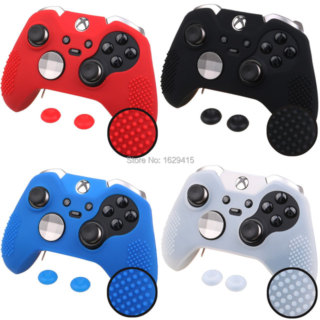 50f2924312d IVYUEEN for Microsoft Xbox one Elite Controller Soft Silicone Case Cover +  2 x Thumb Sticks
