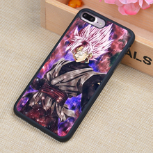 Goku Black Super Saiyajin Style Printed Soft Rubber Phone Cases For iPhone 6 6S Plus 7 7 Plus 5 5S 5C SE 4 4S Back Cover Shell