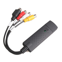 Portable Easy 4 Channel USB 2 0 DVR Composite RCA Input For TV DVD Player Video