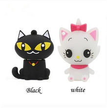 Hot sale USB 3.0 flash drive lovely Catoon Cat 16gb usb flash drive pen drive 4gb 8gb 32gb 64GB Usb Memory Flash Stick