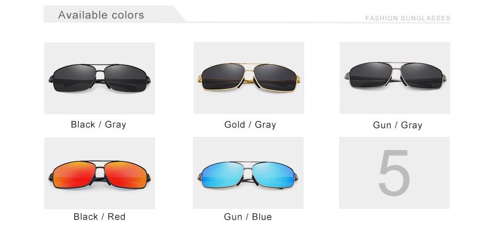 Vintage Polarized Sunglasses N7088