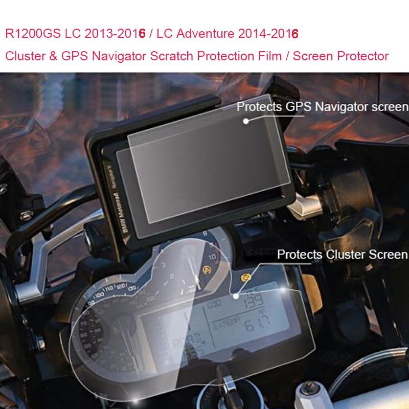 для BMW R1200GS ЛНР 2013-2016 / ЛНР Приключения 2014 2015 2016 кластера и GPS-навигатор Скреста-защитная пленка протектор экрана
