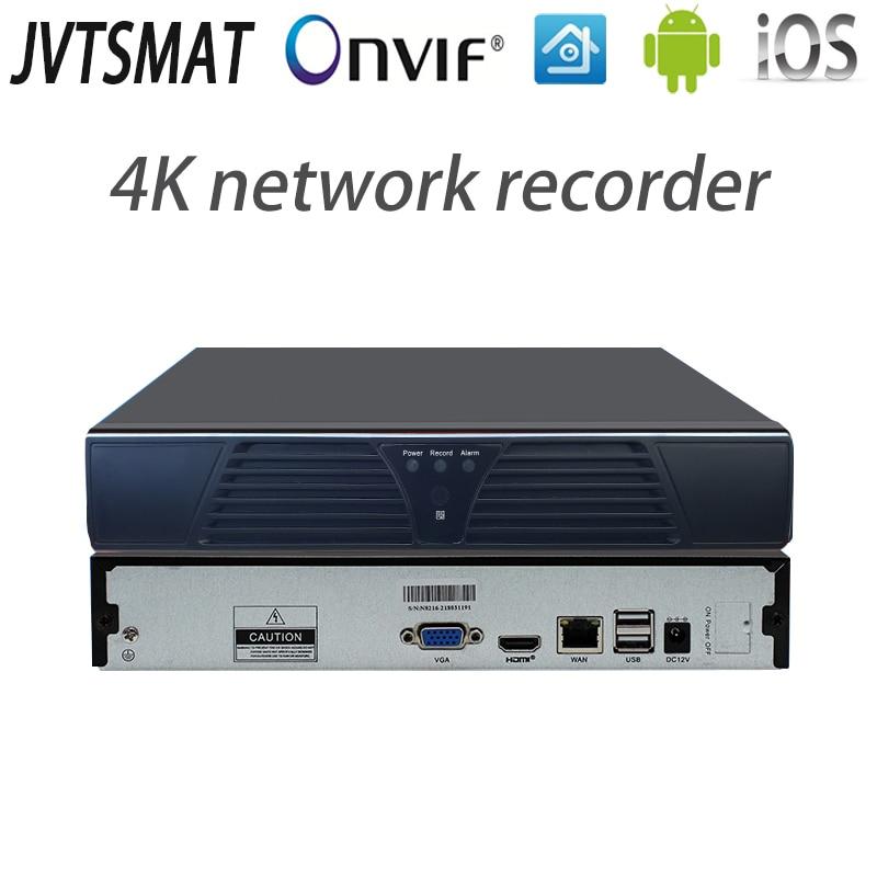 jvtsmart H.265 25CH 32CH 16CH NVR 5mp 4mp 4K Network Video Recorder Onvif P2P cctv Full HD 32Channel 16Channel 25Channel XMeye