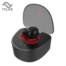TTLIFE Q7 Super Mini Wireless Earphone Bluetooth 4.1 Invisible Hands Free Airpods Headphone with Charging Box for iPhone 7/xiao
