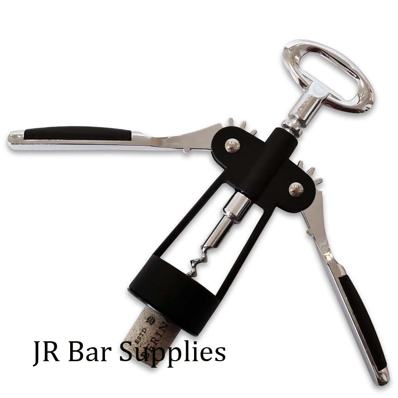 JR Bar Supplies Store Free Shipping Wing Corkscrew Wine Opener by HiCoup - Premium All-in-one Wine Corkscrew