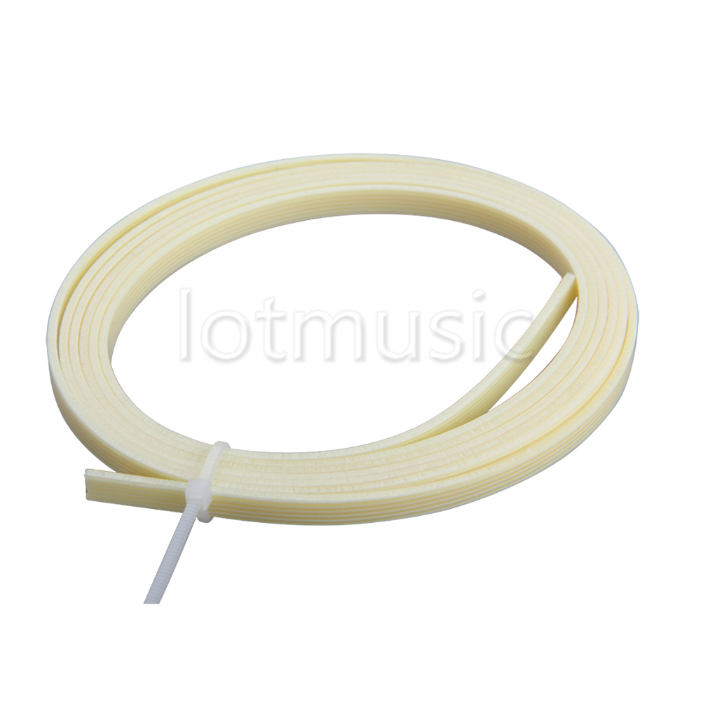 White Pearl Guitar Binding Purfling 1650x5x1.5mm Celluloid Guitar Parts
