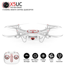 SYMA X5UC RC Drone With 2MP WIFI Camera Height Hold One Key Land 2.4G 4CH 6Axis Quadcopter UAV Headless Model Helicopters Drone