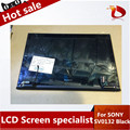 "100% test Black original LCD touch screen FOR SONY Vaio Pro13 SVP132 SVP132A SVP13 LCD assembly 13.3"" led digitizer display"