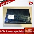 """Prueba del 100% original negro lcd táctil lcd asamblea de pantalla para sony vaio svp132 svp132a svp13 pro13 13.3 """"led pantalla digitalizador"""