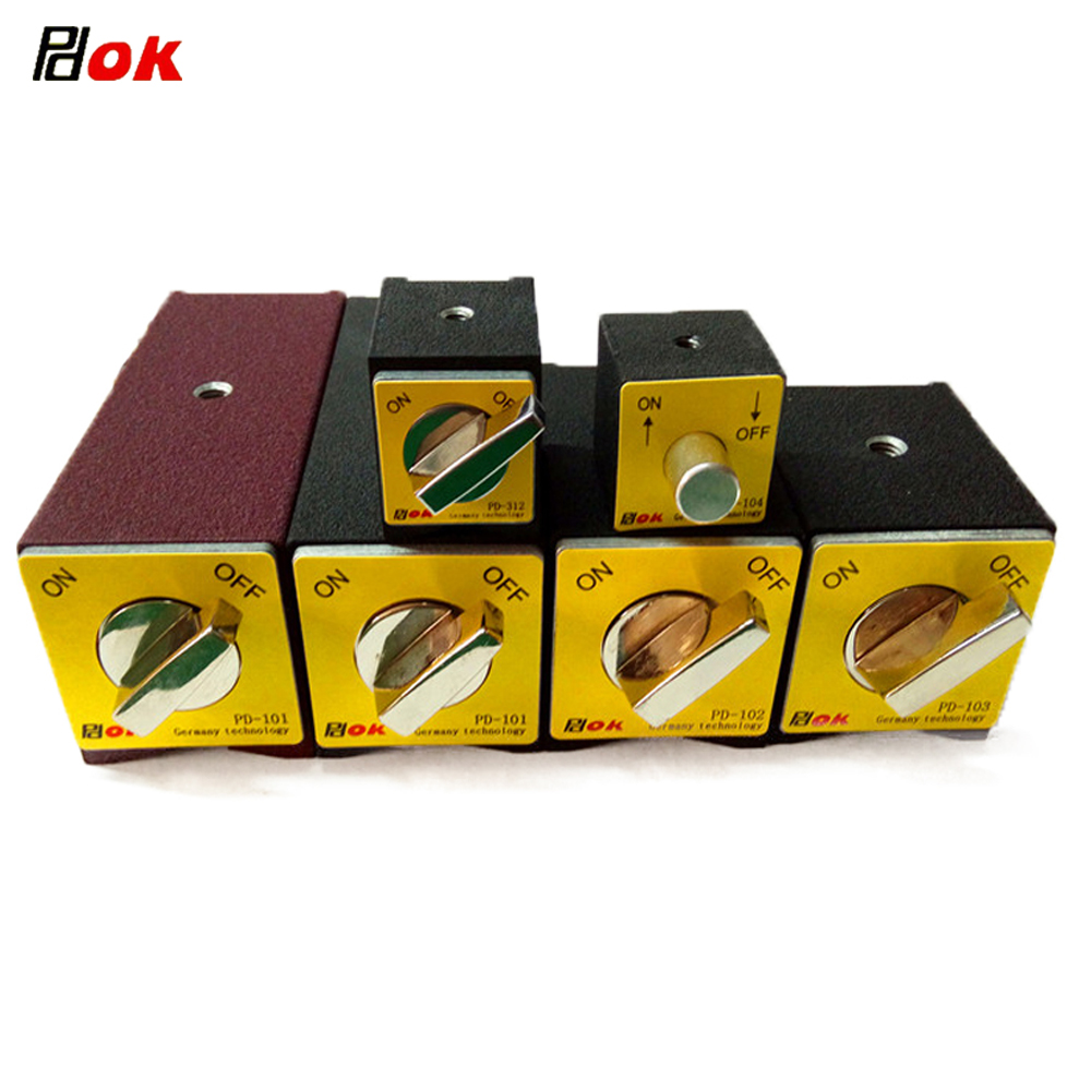 PDOK On/Off Magnetic Base Holder Switchable Neodymium Magnet Indicator Clamp 30kg/50kg/80kg/100kg