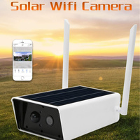 1080P Wireless Solar Camera Security Surveillance Waterproof IR Night Vision 2MP Wireless Wi Fi Security Surveillance Outdoor
