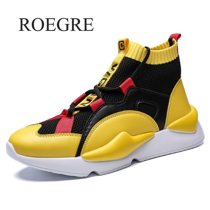 Mens Autumn & Winter Sneakers High Top Brand Shoes Casual Shoes