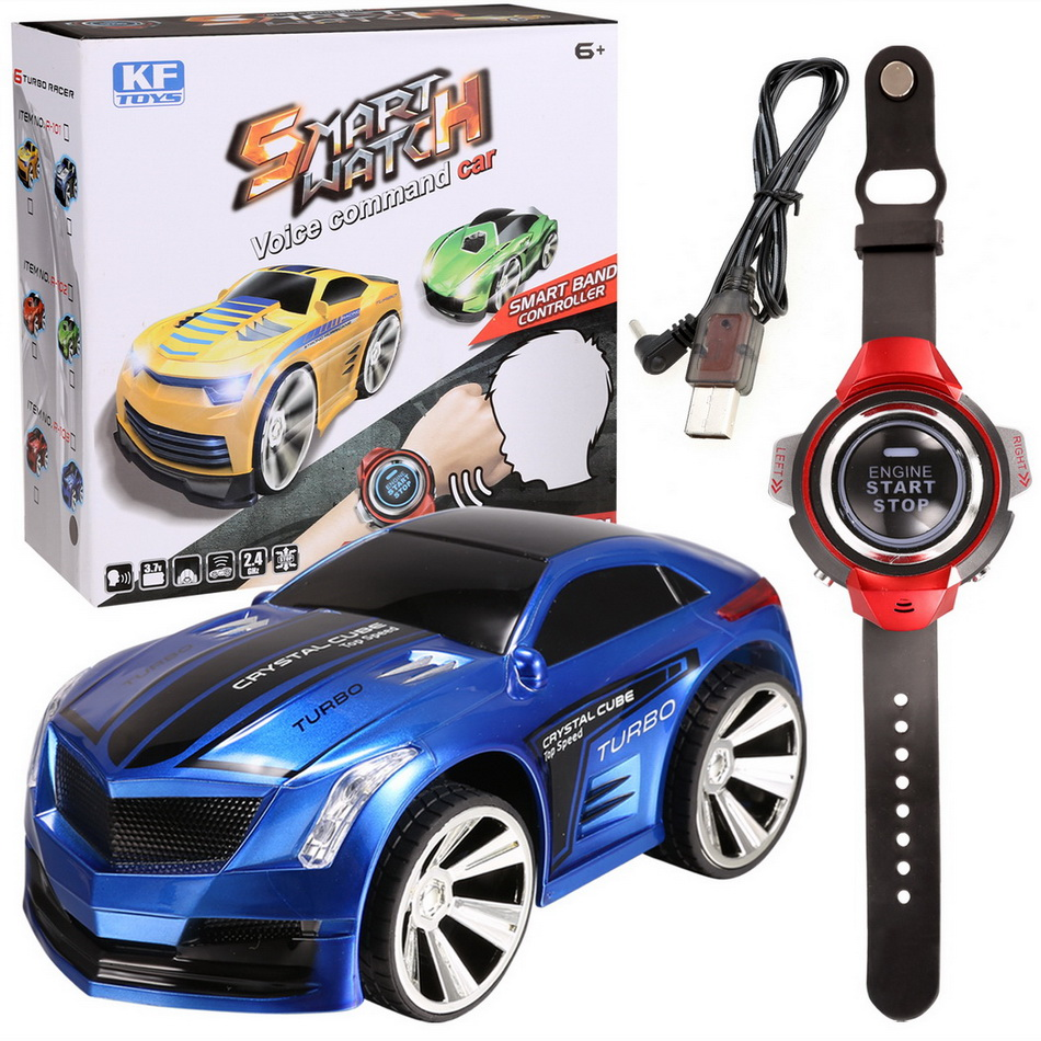 RC Car 2.4G 6CH Voice Command Car Smart Watch remote control Car,radio control toys watch comes with voice features rc model toy