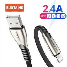 Suntaiho USB for iPhone Cable for iPhone charger 6 XR 7 Plus Fast Charging Data cord Charger for iPhone lightning XS Max 6 cable