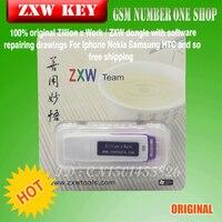 Gsmjustoncct Ontelbaar x Werk ZXW DONGLE Reparatie mobiele telefoon printplaat Reparatie telefoon PCB schakelschema activering Zwarte vis