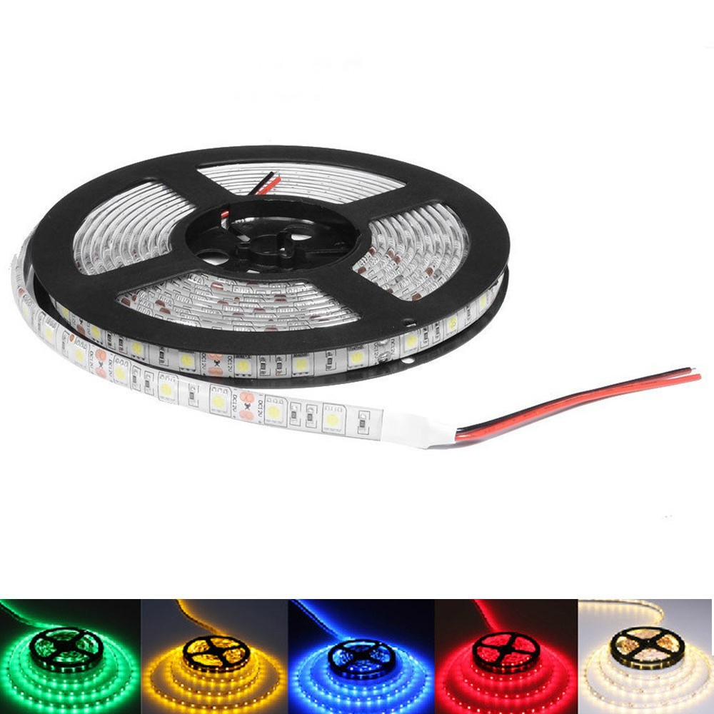 LED Strip light 12V 5050SMD White Warm White Red Green Blue Yellow RGB