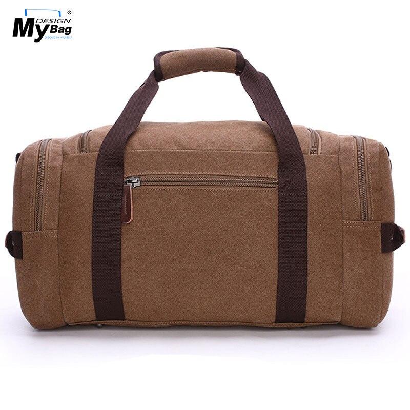 DESIGN MYBAG Mode Extra Stor Weekend Duffel Bag Meddelande Väska - Väskor för bagage och resor - Foto 3