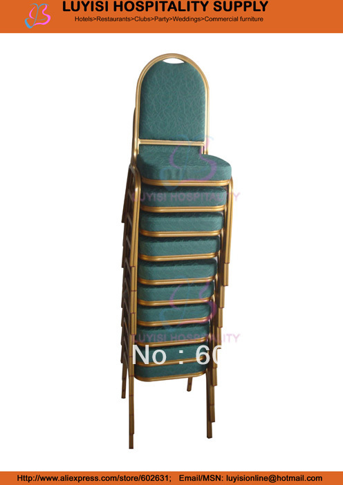 Stacking Banquet chair hot sale stacking steel banquet chair luyisi1039