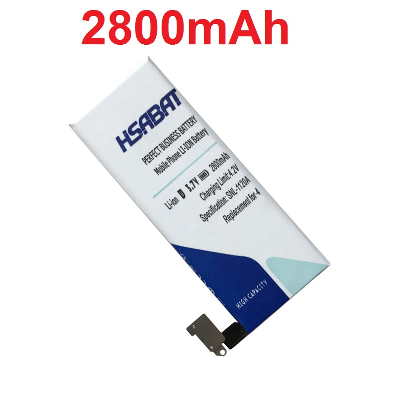 imágenes para HSABAT 2800 mAh Batería para el iphone 4 Batería de Uso de la Batería para iPhone4 para el iphone 4g de La Batería envío Gratis
