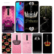 Mom Queen Princess Case for Xiaomi Redmi Note 7 7S K20 Y3 GO S2 6 6A 7A 5 Pro MI Play A1 A2 8 Lite Poco F1 Silicone Phone Bags(China)