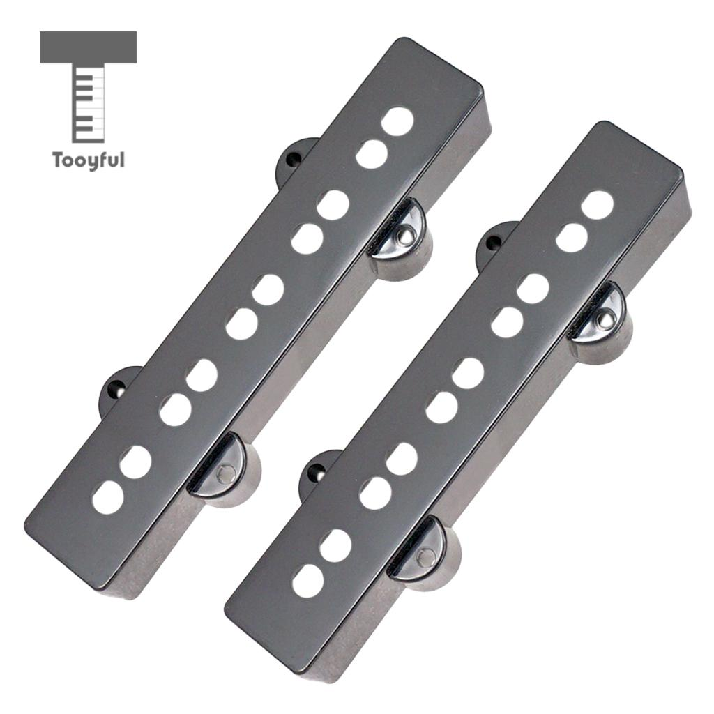 tooyful 5 string pickup covers open type for jazz jb bass electric guitar new in guitar parts. Black Bedroom Furniture Sets. Home Design Ideas