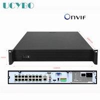 16ch канала NVR PoE ONVIF 4hdd слот 48 В для 5mp 3mp 1080 P 2mp HD POE IP Камера сети видео Регистраторы системы видеонаблюдения