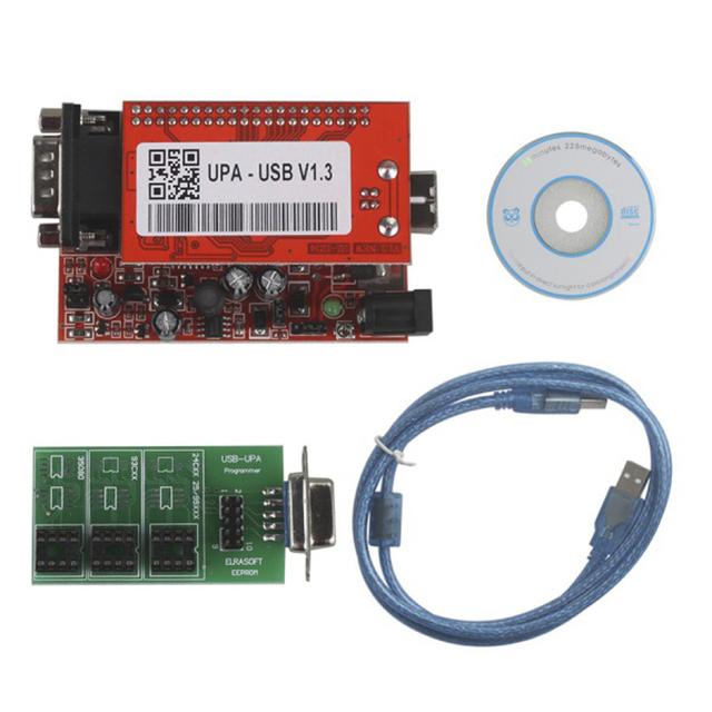 Nova V1.3 UPA Programador USB para 2013 Unidade Principal Versão Frete Grátis