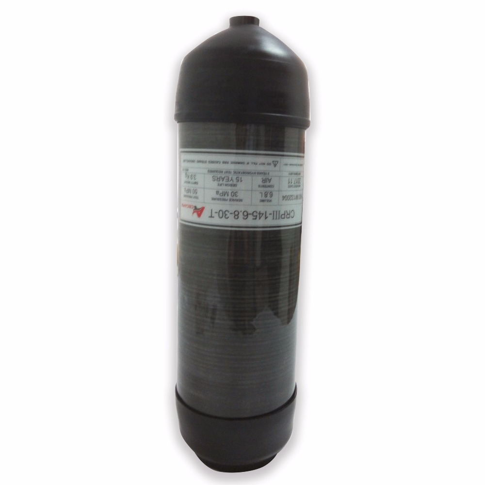 AC36891 Pcp 6.8L Scuba Bottle Paintball Tank Carbon Rifle Airgun Gas Cylinder Security & Protection Airrifle Acecare 2019