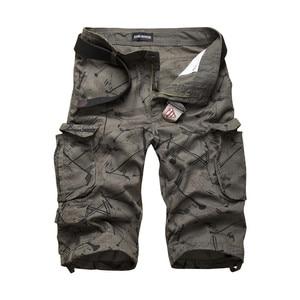 Image 4 - 2020 letnie bawełniane męskie szorty Cargo moda kamuflaż męskie spodenki multi pocket Casual Camo Outdoors Tolling Homme krótkie spodnie