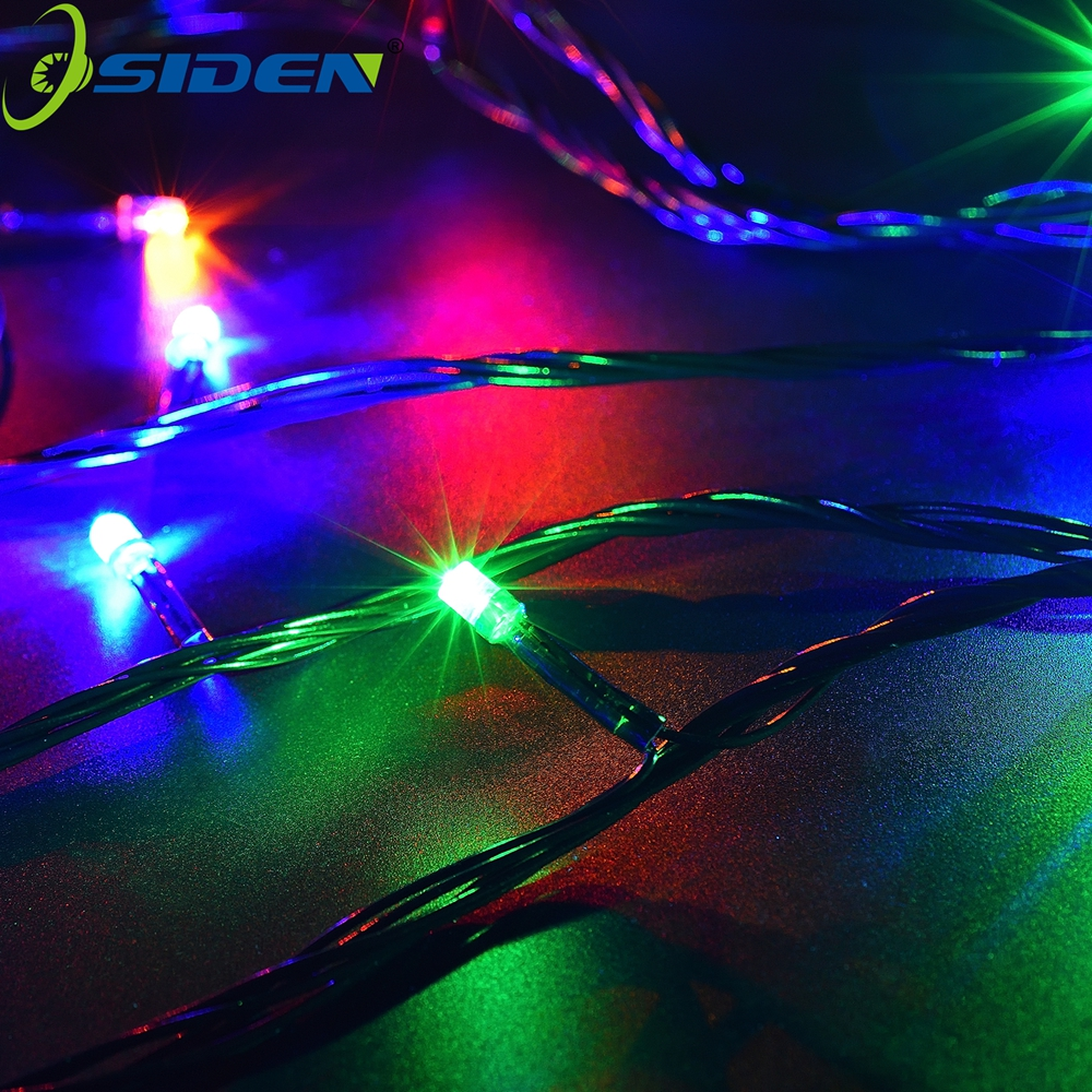 Լուսավորության լարեր Garland AC220V110V 10M100 led 20M Christmas Holiday Wedding Wedding Party Decoration LED String FairyLightsLamps