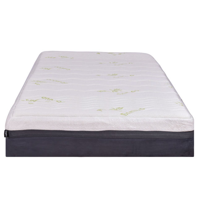 Giantex California King Size 10 Memory Foam Mattress Healthy Bamboo