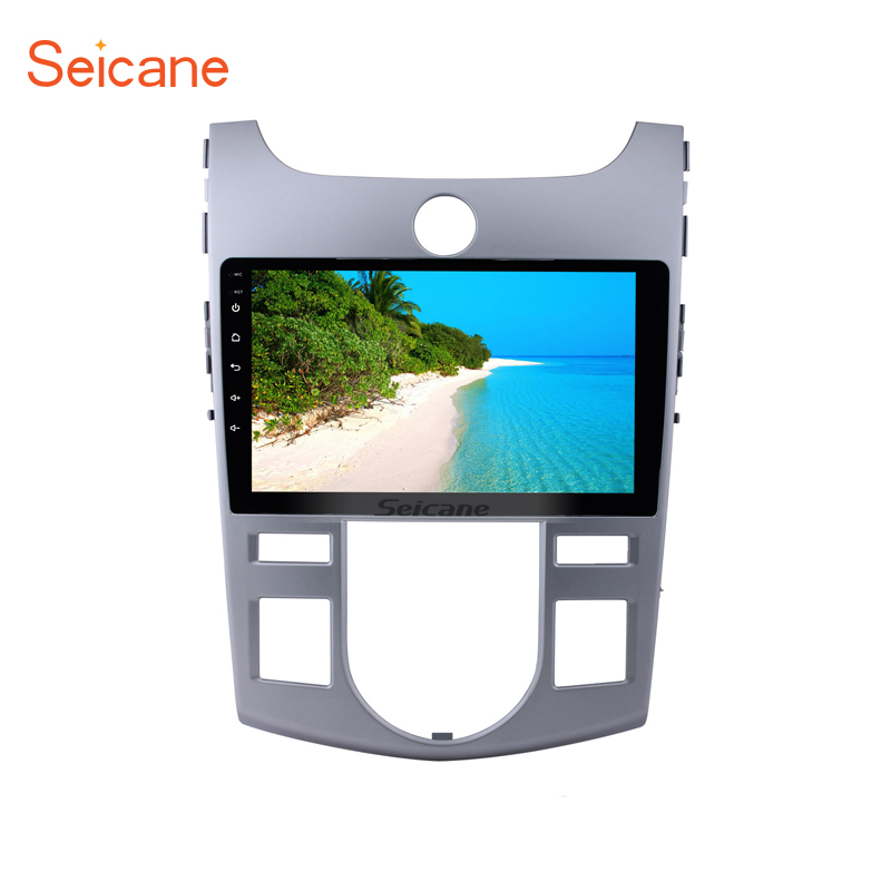 Seicane 9 Android 7.1/Android 8.1  2DIN Car GPS Stereo Radio Quad-core Wifi Multimedia Player for 2008 2009-2012 KIA Forte(AT) Seicane 9 Android 7.1/Android 8.1  2DIN Car GPS Stereo Radio Quad-core Wifi Multimedia Player for 2008 2009-2012 KIA Forte(AT)
