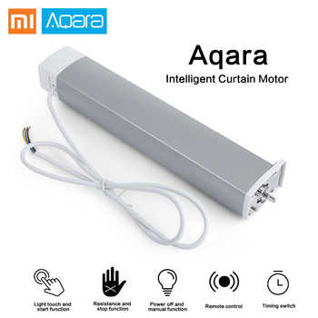 Xiaomi Aqara Smart Curtain Motor Intelligent Zigbee Wifi For xiaomi Smart Home Device Wireless Remote Control Via Mi Home APP - DISCOUNT ITEM  35% OFF All Category