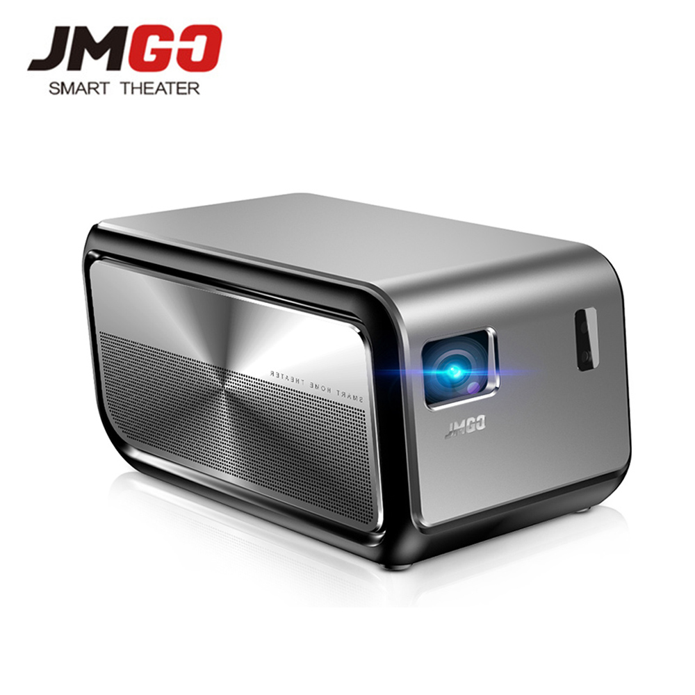JMGO J6S Android DLP 1100 ANSI Lumen Projector 1080P Full HD Proyector Support 4K Video Wifi HDMI Bluetooth Portable TV Digital    1