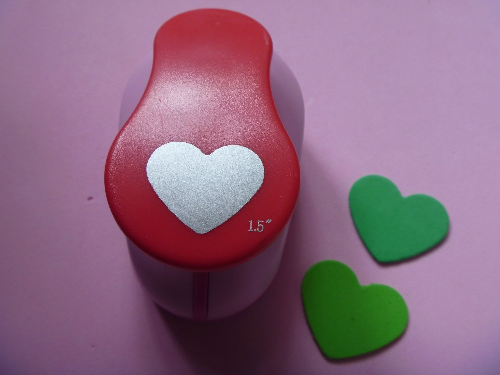 Lovely Heart Pattern Paper Punch Scrapbooking Punches Card DIY Hole Puncher