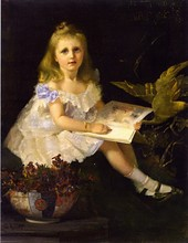 Unframed Canvas Prints - Louise, Daughter Of The Hon. L. I. Smith - By Tom Roberts