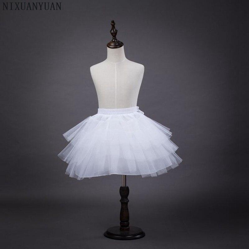 Nixuanyuan 2018 Kurze Lange Petticoat Kleid Madchen Retro Vintage