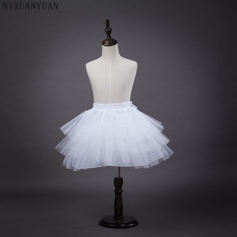 Spirited Nixuanyuan 2019 Short Length Petticoat Dress Girls Retro Vintage Swing Rockabilly Hoop White Wedding Petticoat Crinolines Slips Preventing Hairs From Graying And Helpful To Retain Complexion Wedding Accessories