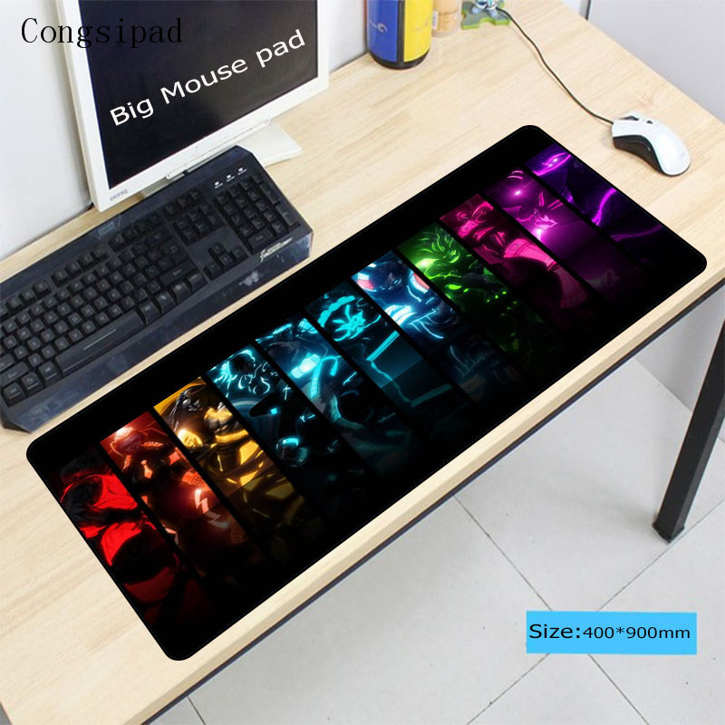 Cushion Rubber Keyboard Mouse Pad Computer Desk Mat For Laptop PC LOL Dota Game