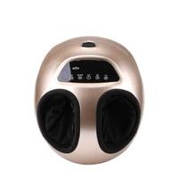 220V Electric Antistress 3D Shiatsu Kneading Air Pressure Foot Massager Infrared Foot Care Machine Heating & Therapy EU plug