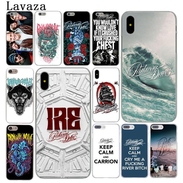newest collection 0bd32 68007 US $2.55 |Lavaza Parkway Drive Hard Cover Case for Apple iPhone X XS Max XR  6 6S 7 8 Plus 5 5S SE 5C 4S 10 Phone Cases 7Plus 8Plus-in Half-wrapped ...