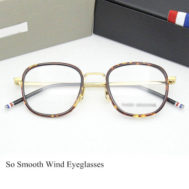 Acétate léger lunettes cadre hommes Carré rétro spectacle montures pour femmes Optique Lunettes hommes de lunettes oculos de grau