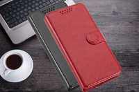 Luxury Wallet PU Case Flip PU Leather Exclusive Fashion Cover Book Card Slots For Philips Xenium W6610 W6618