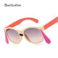 Badtemper Neue Mode Kinder Sonnenbrillen Kinder Prinzessin Nette Baby Kaninchen Brillen Qualität Jungen Gilrs Sonnenbrille Sommer Stil