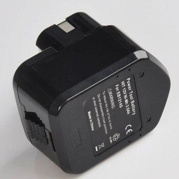 12 V batería recargable Ni-Mh 3.0Ah reemplazar para Hitachi destornillador de taladro eléctrico inalámbrico EB1214L EB1214S EB1212S EB1220BL