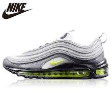 buy popular cb956 65787 Nike WMNS Air Max 97 Neon Tênis de Corrida dos homens-resistente ao  Desgaste, Luz Cinza, absorção de choque Não-Slip Breathable9.