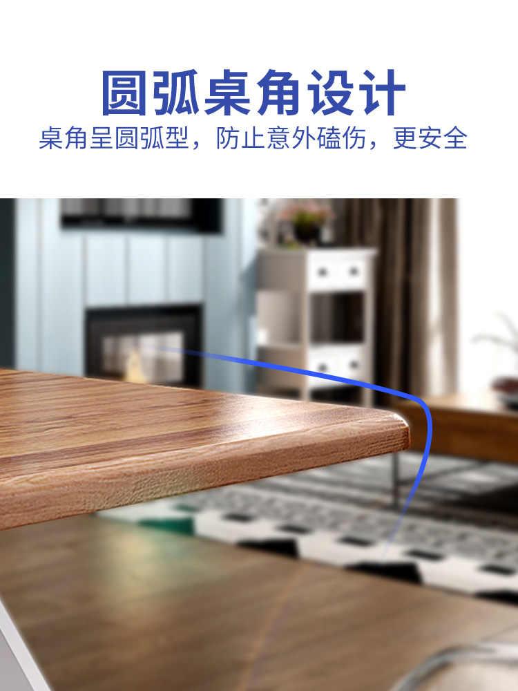 Mesa de comedor de cocina plegable para el hogar, estudio, escritorio, mesa  de centro, mesa de té de madera, mesa de oficina, escritorio de Pedestal