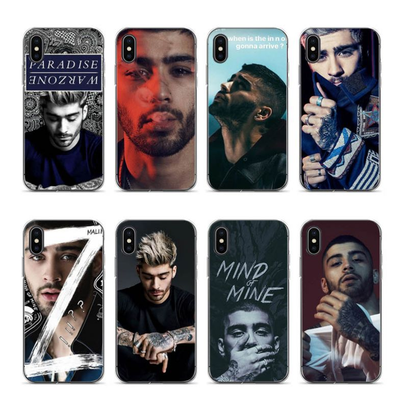 Aiboduo Zap Zayn Malik Tatto One Direction Soft silicone cover Case for iPhone 5s 5 8 7 6 6S Plus X XS XR XSmax 7plus 8plus
